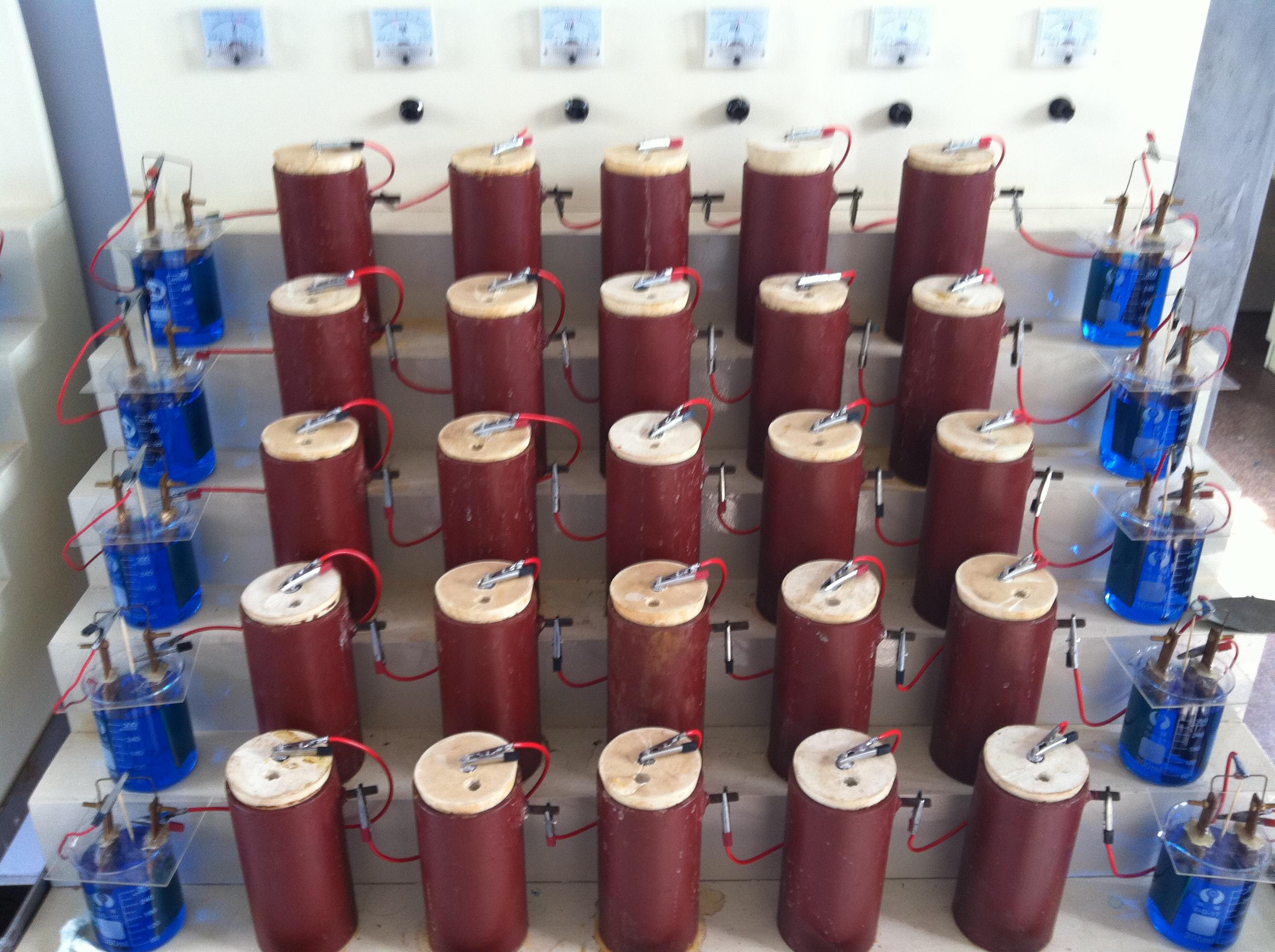 牺牲阳极电化学性能测试方法与设备